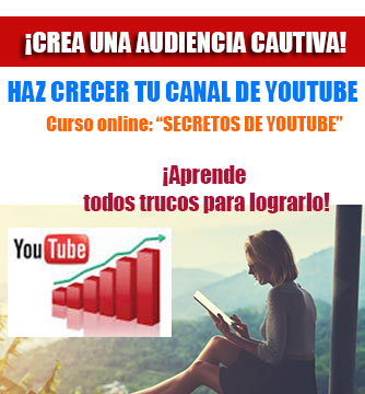 "Curso :""Secretos de Youtube"""