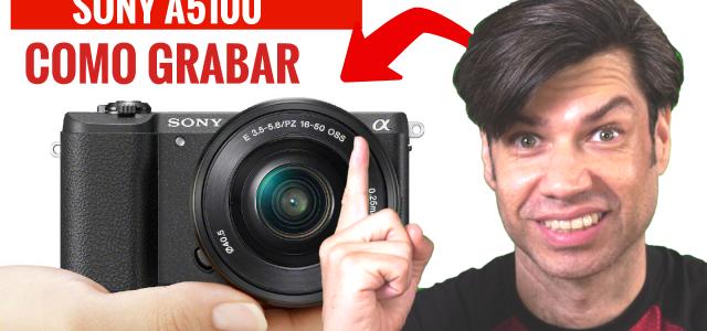 Sony A5100 Tutorial Español, en este tutorial te decimos como grabar video con esta camara de video mirroless, si buscas que camara comprar para video, ve este video.  Tweet